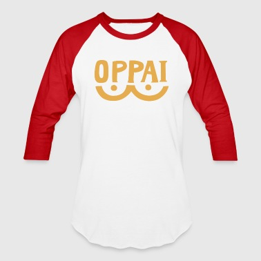 Oppai ► Boobs in Japanese - Baseball T-Shirt