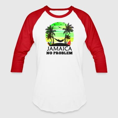 Jamaica No Problem - Baseball T-Shirt