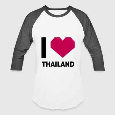 I Love Thailand - Baseball T-Shirt