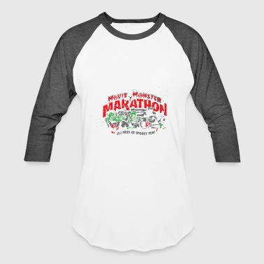 Movie Monster Marathon - Baseball T-Shirt