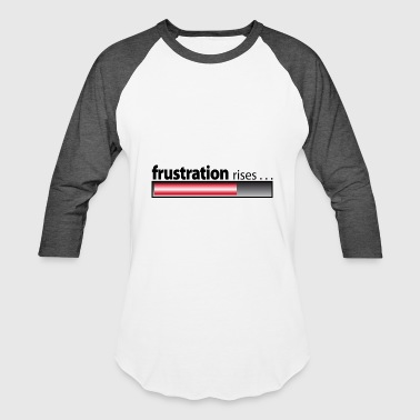 frustration rises / frustration / despair - Baseball T-Shirt