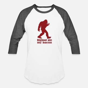 Bigfoot Humor Bigfoot - Baseball T-Shirt