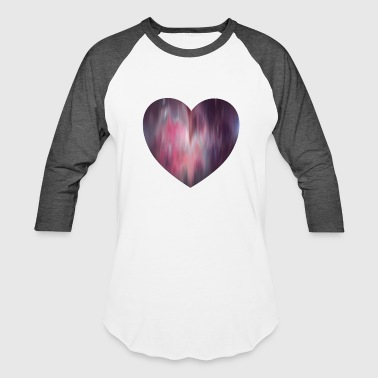 Heart Peace FLUID HEART - Baseball T-Shirt