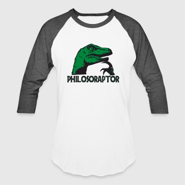 Philosoraptor - Baseball T-Shirt