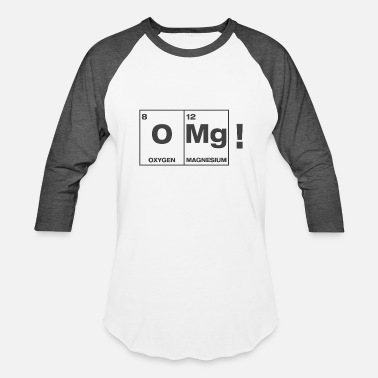 Izombie iZombie OMg Periodic Table Shirt - Baseball T-Shirt