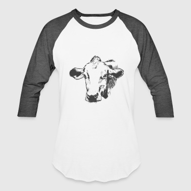 Cow Gorgeous Cow - Baseball T-Shirt