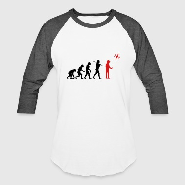 Drone Evolution The drone evolution - Baseball T-Shirt