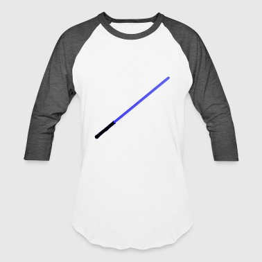 Blue Lightsaber - Baseball T-Shirt