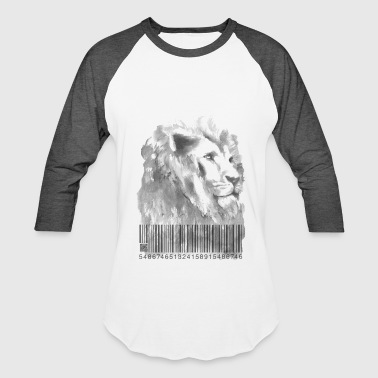 Qr Code Scanner Lion Code - Baseball T-Shirt