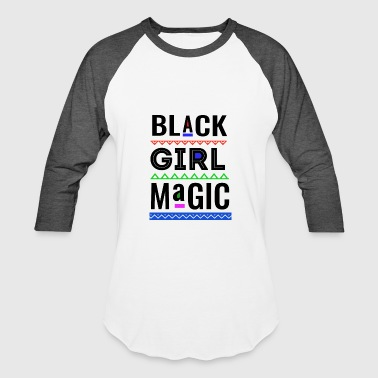Melanin Girl Magic Black Pride Womens - Baseball T-Shirt