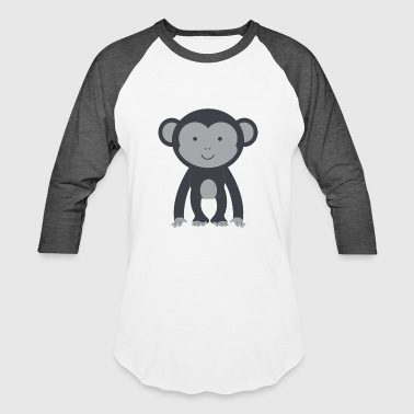 Jungle monkey animal gift cute banana jungle cool - Baseball T-Shirt
