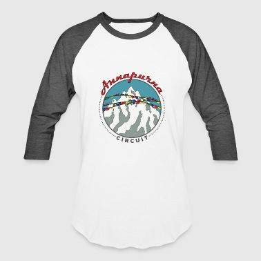 Annapurna Circuit Hiking Shirt - Baseball T-Shirt