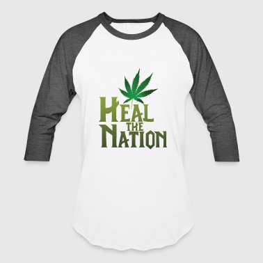 Healing Heal the Nation - Baseball T-Shirt