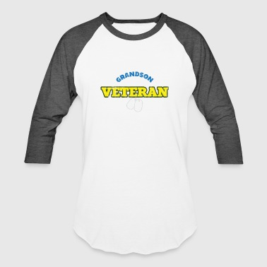 Guns Veterans Day Veterans Day - Grandson Veteran - Baseball T-Shirt