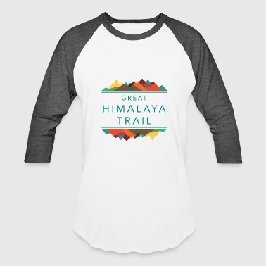 Great Himalaya Trail Nepal Hiking Shirt - Baseball T-Shirt