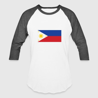 Filipino Flag Philippines Flag of the Philippines Cool Filipino Flag - Baseball T-Shirt