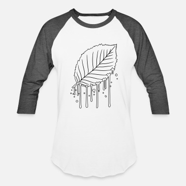 Stamp wet damp graffiti dripping spray stamp black beech - Baseball T-Shirt