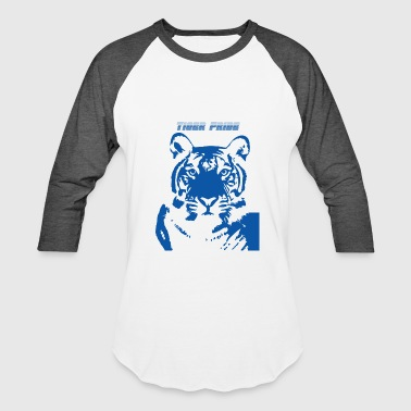 Blue_Tiger - Plus Size - Baseball T-Shirt