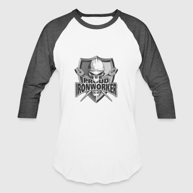 Proud Ironworker Skull & Wrenches - Baseball T-Shirt