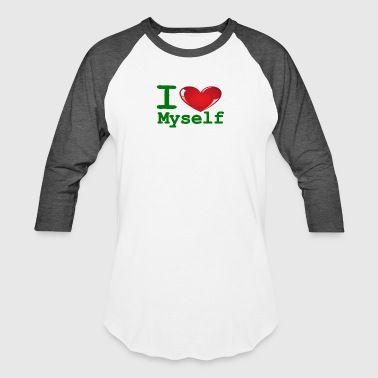 Best Selling Kids i Love Myself -Green- Best Selling Design - Baseball T-Shirt