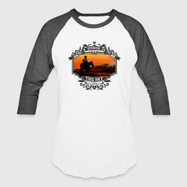 To Ride A Horse Is To Ride The Sky - Baseball T-Shirt