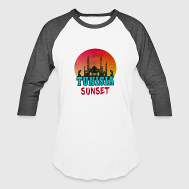 Maghreb Tunisia Sunset Vintage / Gift Tunis North Africa - Baseball T-Shirt
