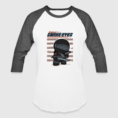 Snake Eyes Snake Eyes - Baseball T-Shirt
