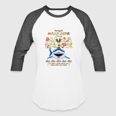 Mommy mama shark do do - Baseball T-Shirt