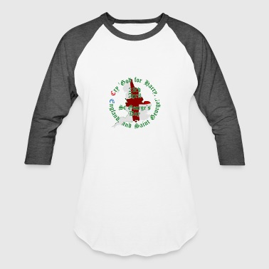 St George's Day - Baseball T-Shirt