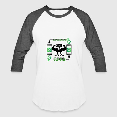 Android App blackdroid apps - Baseball T-Shirt
