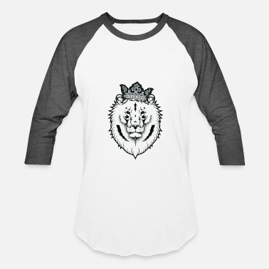 Lion King Royal Royal Lion - Baseball T-Shirt