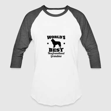 Newfoundland Grandma World's Best Newfoundland Grandma - Baseball T-Shirt