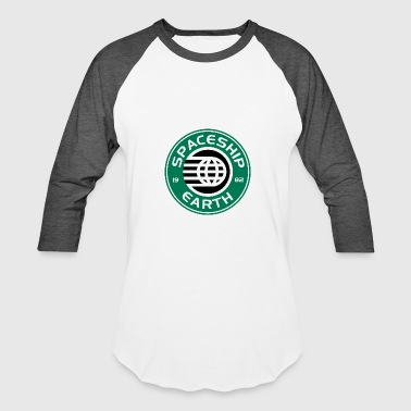 Spaceship Starbucks - Baseball T-Shirt