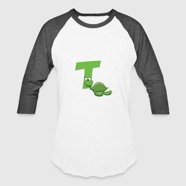T Is For Turtle T Is For Turtle - Baseball T-Shirt