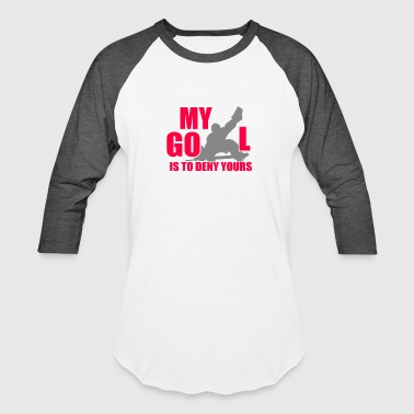 Hockey Goalie Hockey skate Goalie - Baseball T-Shirt