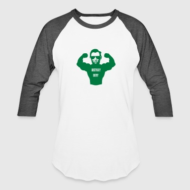 History strongman Buff - Baseball T-Shirt