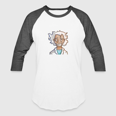 Funny Scientist Mad scientist - Baseball T-Shirt