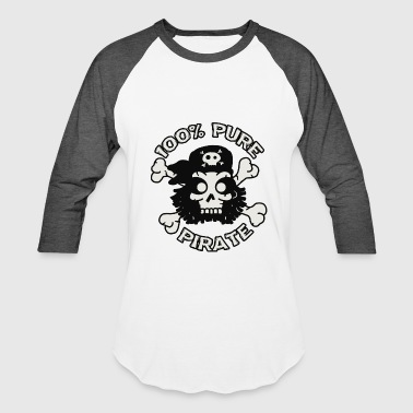 Pure pirate - Pure Pirate - Baseball T-Shirt