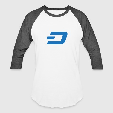 Dash Logo 3 - Baseball T-Shirt
