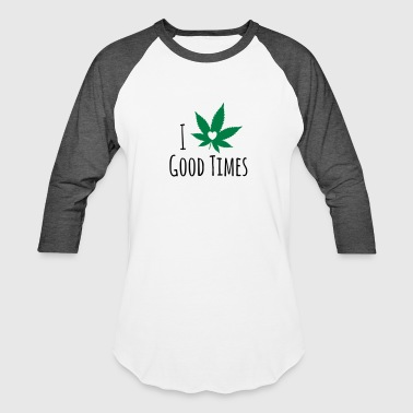 Hemp Leaf Hemp Leaf - Baseball T-Shirt