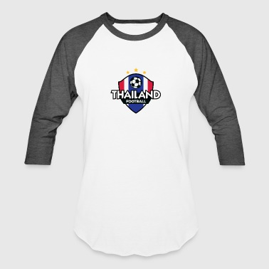 Organic Football Football Logo Of Thailand - Baseball T-Shirt