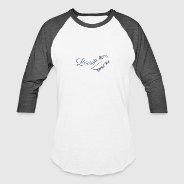 Lovely Love Feather - Baseball T-Shirt