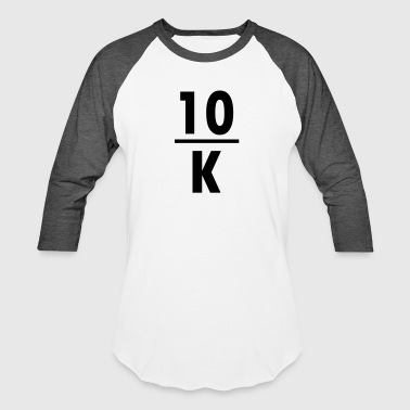 10K dinghy - Baseball T-Shirt