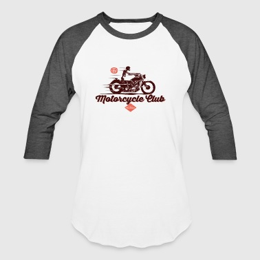 Motorcycle Club - Baseball T-Shirt
