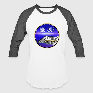 Pch Big Surf California - Baseball T-Shirt