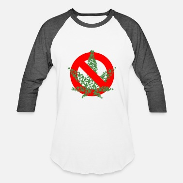 Allowed No Marijuana Allowed - Baseball T-Shirt