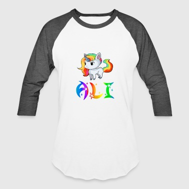 Ali Ali Unicorn - Baseball T-Shirt