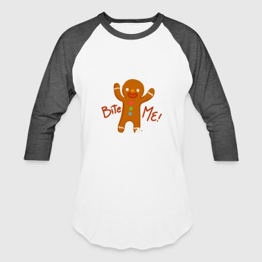 Gingerbread Man Ginger Christmas Bread Gift Sweet - Baseball T-Shirt