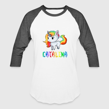 Catalina Catalina Unicorn - Baseball T-Shirt