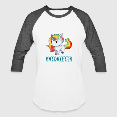 Antonietta Unicorn - Baseball T-Shirt